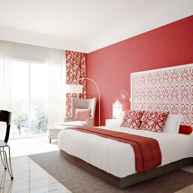 Lovely-red-bedroom-interior-design-for-couples