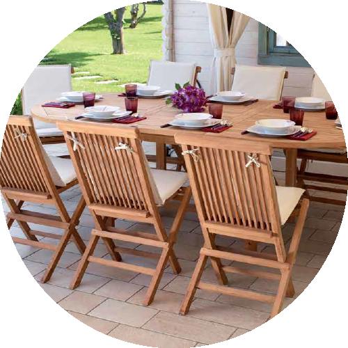 Come verniciare un tavolo da giardino