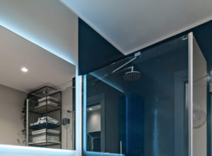 Resina per pareti al posto delle piastrelle colore torino - Pareti doccia in resina ...