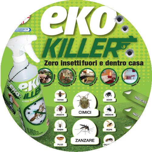Eko Killer: contro cimici ed insetti