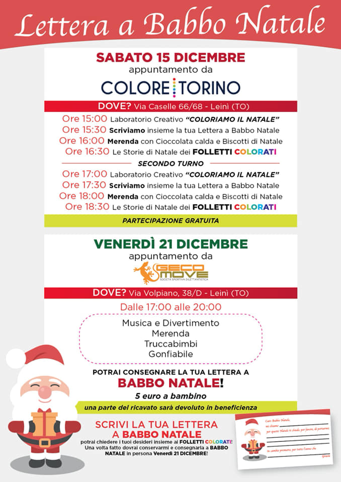 Festa di Natale con i Folletti Colorati