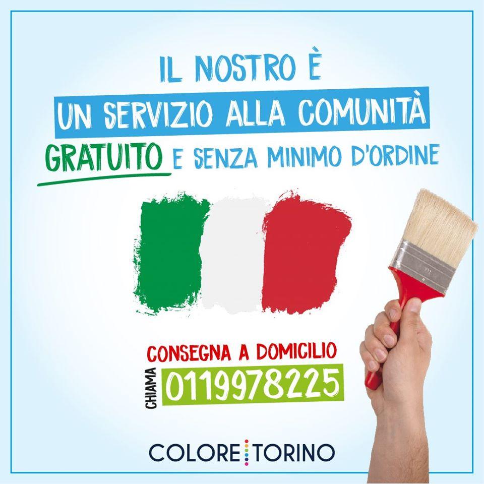 Consegna Gratuita su Torino e prima cintura!