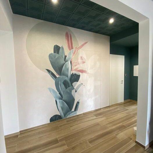 sistemi decorativi per pareti colore torino leini